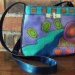 Hand Painted Handbag with M..